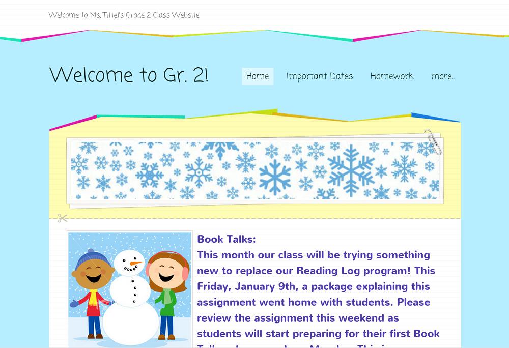 Grade 2M: trilliumschool2m.weebly.com