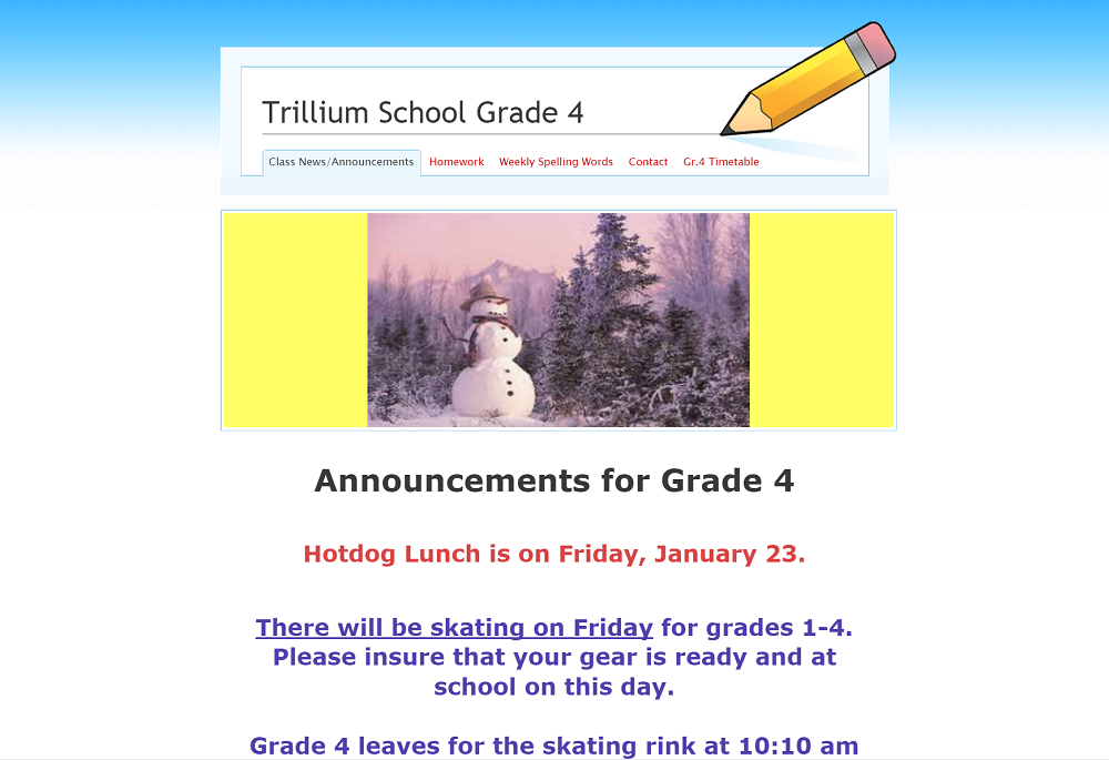 Grade 4: trilliumschoolgrade4.weebly.com