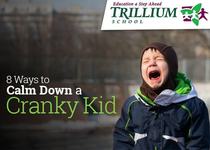 Calm Down a Cranky Kid